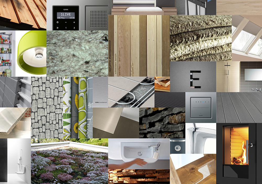 customisable home options collage